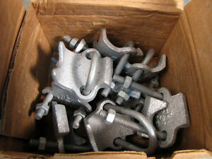 10pk Bridgeport 1 Conduit Clamp Right Angle Type 963 New