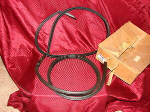 61 Chevrolet Pontiac Buick Olds Bubble Top Nos Gm Roof Rail Weatherstrip