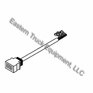 Boss Snowplow 13 Pin Connector Pigtail 13 Truck Side Rt3 V blade Straight Plow