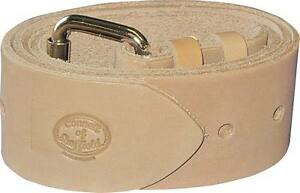 Connell Of Sheffield Premium Scaffolders Leather Tool Work Belt Made In The Uk