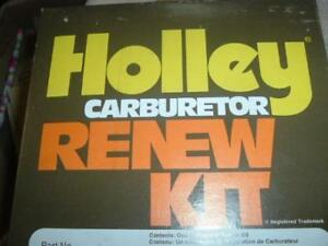 1972 Ford Marine 4bbl Carburetor Rebuild Kit