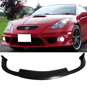 Fits 00 02 Toyota Celica Jdm Style Front Bumper Lip Pu Poly Urethane