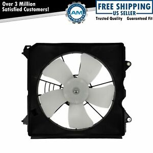 Radiator Cooling Fan Assembly denso Driver Side For 08 10 Honda Accord 2 4l