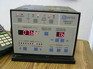 Dionex Model Cdm 2 Conductivity Detector W2