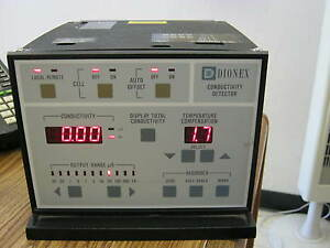 Dionex Model Cdm 3 Conductivity Detector W2