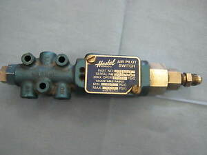 Haskel 52180 2 Air Pilot Switch Max Op 10k Psig w