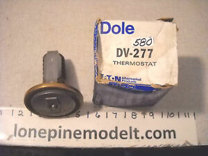 Dole Dv 277 Heavy Duty Thermostat Caterpillar Hyster Gardner denver Huber warco