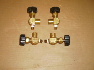 Scott Manual Brass Valve 3 8 Male 3 8 Female Threads Qty 4