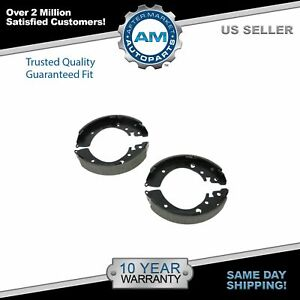 Nakamoto Rear Drum Brake Shoes Left Right Set Kit For Honda Civic Fit Accord