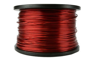 Temco Magnet Wire 14 Awg Gauge Enameled Copper 5lb 155c 395ft Coil Winding