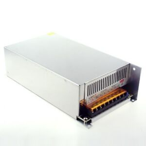 Dc 24v 20a Switching Power Supply Led Transformer Regulated Us Shipping From Ca