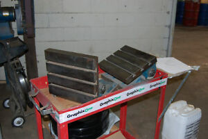 2 10 X 12 t slotted Swiveling Angle Plates 26666