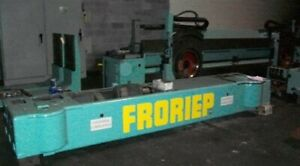 120 132 Froriep 10kz300 Double column Vertical Boring Mill 25859