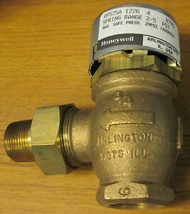 Honeywell Vp525a 1226 4 Pneumatic Radiator Valve
