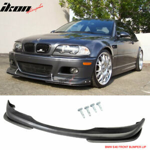 Fits 01 06 Bmw E46 M3 Ac s Urethane Front Bumper Lip Spoiler Body Kit Pu