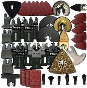 Fm154 239pc Variety Pack Oscillating Multitool Saw Blade Fits Fein Multimaster