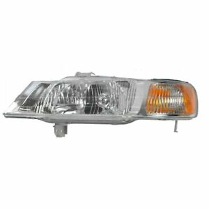 Headlight Headlamp Driver Side Left Lh New For 99 04 Honda Odyssey