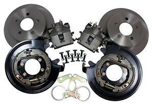 8 9 Ford 11 Rear Disc Brake Kit W Parking Brake 5 Lug M 2300 G Small Ford