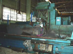 16 X 30 X 192 Mattison Hydraulic feed Horiz Spindle Surface Grinder 24261