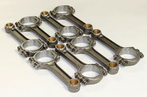 Scat Sbf Ford 5 4 Connecting Rods 4340 Forged I Beam Bushed 2 Icr5400 927