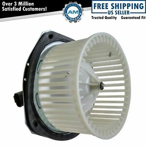 Heater Blower Motor W Fan Cage For Buick Chevy Pontiac Oldsmobile