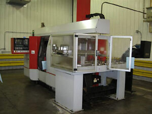 Emco maier Emcoturn 465ds Twin spindle 6 axis Cnc Turning Center 24621