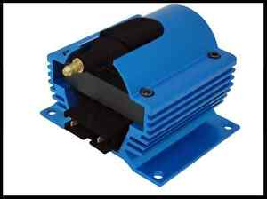12 Volt External Ignition Coil E Core Style Blue 6930 Bl Clearance Special