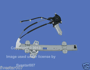 Tsk Front Left Door Power Window Regulator W Motor For Honda Accord 4 5 Door
