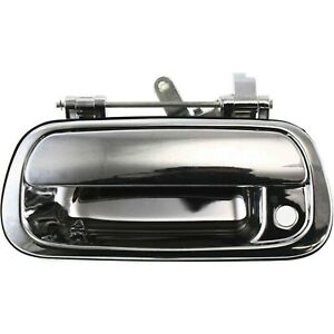 Chrome Tailgate Tail Gate Handle For 00 06 Toyota Tundra Pickup Truck