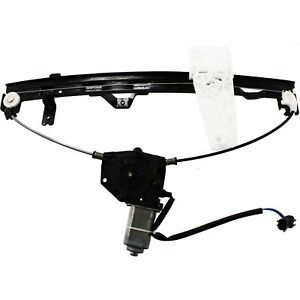 Front Power Window Regulator W Motor Driver Side Left Lh For Grand Cherokee