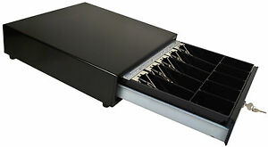 M s Cash Drawer J 423 b All Black With An Extra Money Tray