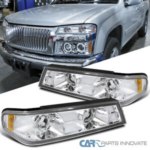04 12 Chevy Colorado Gmc Canyon Pickup Clear Corner Lights Turn Signal Lamps
