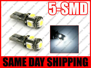 5 smd Super White Canbus Error Free No Error Led Parking Eyelid Lights Bulbs