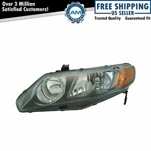 Headlight Headlamp Driver Side Left Lh For 06 08 Honda Civic 4 Door Sedan