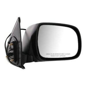 Power Mirror For 2005 2011 Toyota Tacoma Passenger Side Textured Black