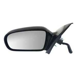Manual Remote Side View Mirror Driver Left Lh For 95 05 Cavalier Sunfire Sedan