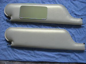 1966 67 Chevelle Ss Convertible New Sun Visors With Vanity Mirror Parch