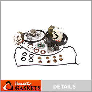 Fit 93 01 Honda Prelude Dohc Timing Belt Water Pump Valve Cover Kit H22a1 H22a4