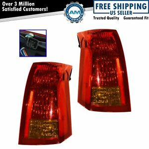 Taillamps Taillights Brake Lights Left Right Pair Set Rear For 04 07 Cts