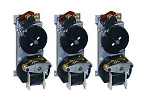 3 Vendo black Disk Vending Machine Motors Fits 312 407 450 475 Univendors