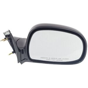Side View Manual Mirror Passenger Right Rh For Blazer Jimmy S10 Pickup Truck