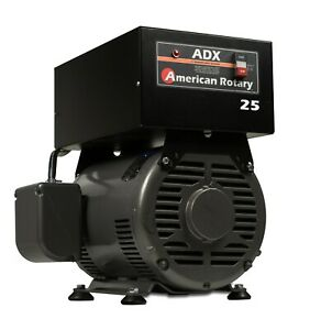 American Rotary Phase Converter Adx25f 25 Hp Floor Unit Digital Smart Series