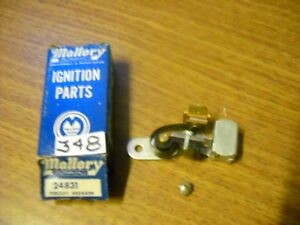 Mallory 24831 Points 1947 1966 Ford Lincoln Mercury Edsel Comet Tractor Falcon