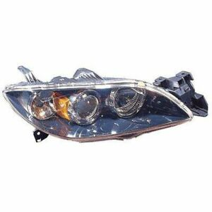 Hid Xenon Headlight Headlamp Passenger Right Rh For 04 06 Mazda 3 4 Door Sedan