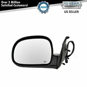Power Heated Mirror Lh Left Driver Side For 98 Chevy Truck Envoy S15 S10 Pickup