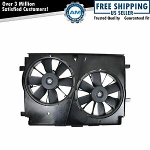 Radiator Fan W Motor For Pontiac Firebird Trans Am Chevy Camaro 5 7l