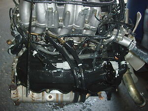 1999 04 Frontier Engine 3 3l 6 Cylinders Non Supercharger Nissan