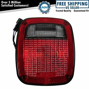Taillight Taillamp Passenger Side Right Rh Rr For 98 06 Jeep Wrangler New