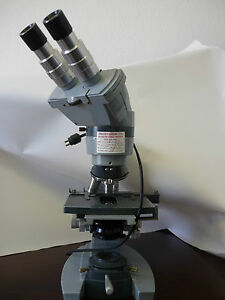 American Optical Corp Spencer Microscope With 4 Objectives Micro Science Biology