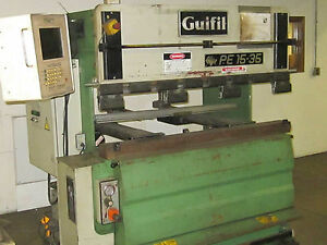 38 Ton Guifil Cnc Hydraulic Press Brake